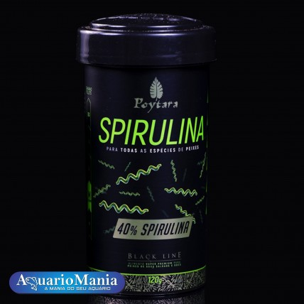 Ração Poytara Spirulina...