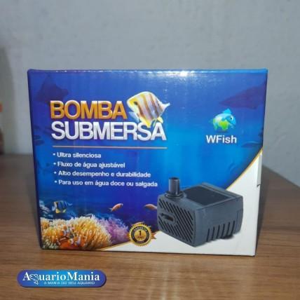 WFISH Bomba Submersa 300l/h...