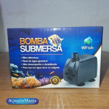 WFISH Bomba Submersa 650l/h...