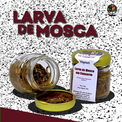 Yepist Larva de Mosca 20g